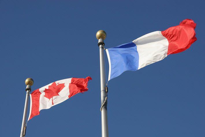 Canada and France publishing