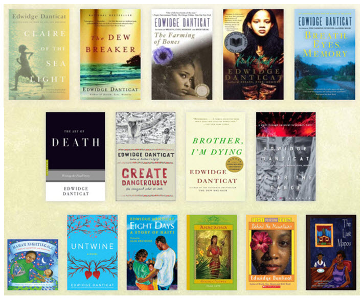 Image result for Neustadt International Prize for Literature edwidge danticat