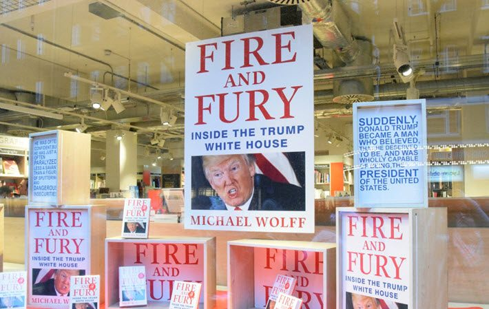 Fire and Fury at Foyles