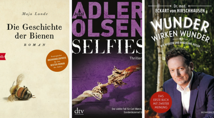 2017 Bestsellers in Germany: Translations Top the Fiction