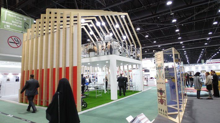 Exhibition Stand Book : Abu dhabi international book fair opens a professional program at