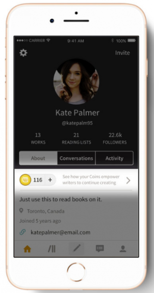 Wattpad To Beta-Test a Payment Plan for Its Writers: Canada