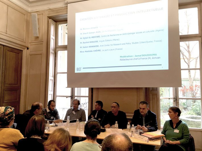 In paris a meeting of franco arabic publishers challenges and hopes