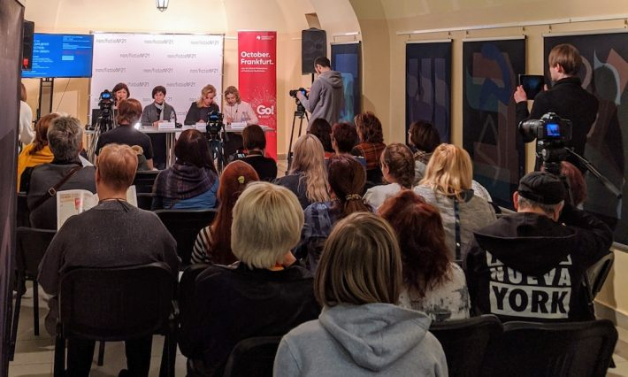 BIZ Moskau young readers event at 2019 non/fiction book fair