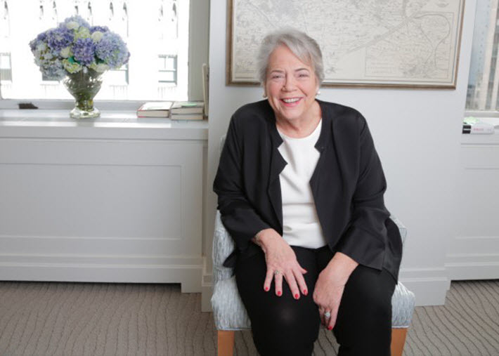 Photo of Carolyn Reidy. Image credit Simon & Schuster, provided by National Book Foundation