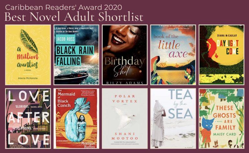Caribbean Readers' Awards 2020 fiction shortlist