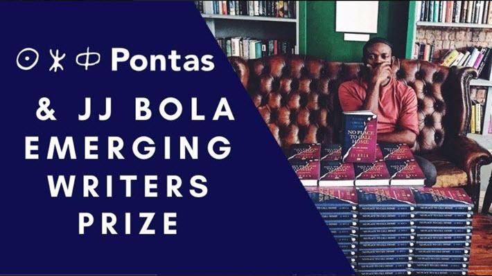 Pontas and JJ Bola Emerging Writers Prize