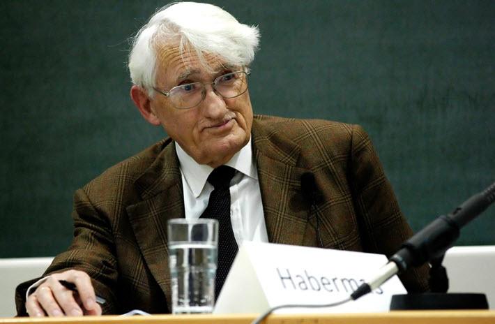 Jürgen Habermas at the Munich School of Philosophy, 2008