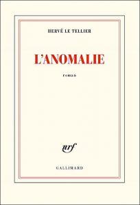 Hervé Le Tellier book L'anolmalie